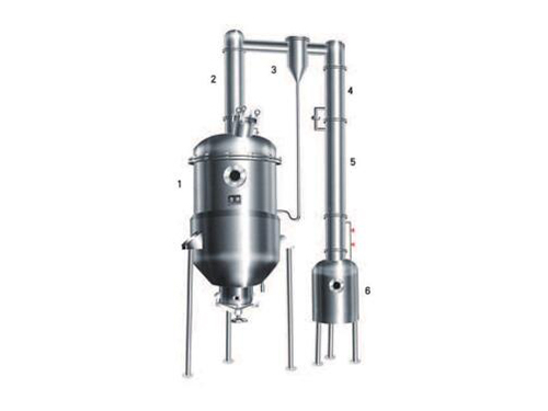 Vacuum decompression concentrate tank series